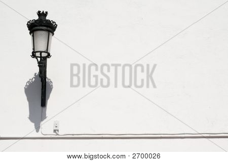 Lamp And Wall