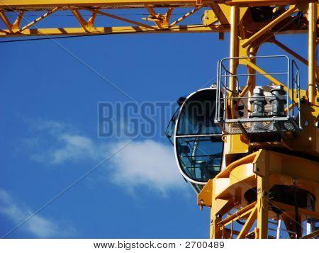 Closeup Crane Cab