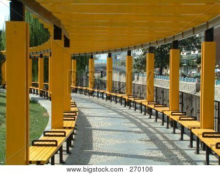 Corridor In Beijing