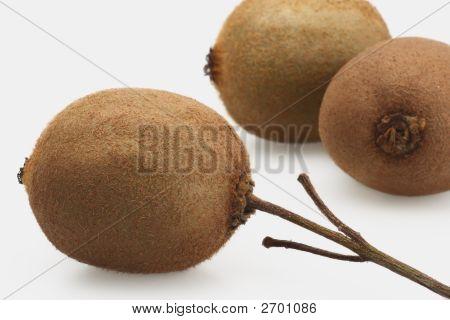 Three Fresh Kiwi