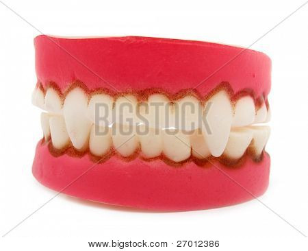 Vampire teeth jaw