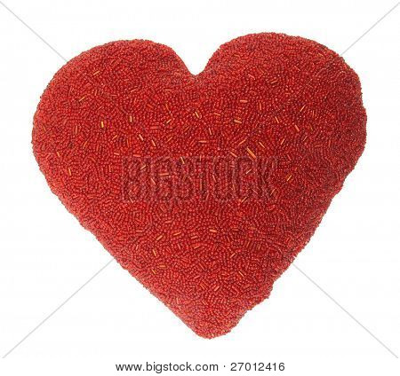 Rot Heart shaped Heimtextilien