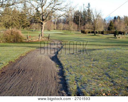Golf Course Cart Path