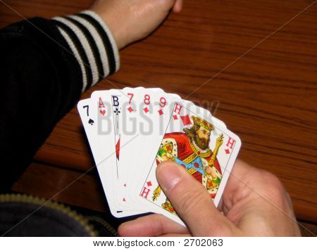 Hand Of Seven Cards