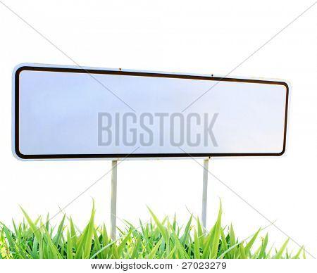 Traffic sign green