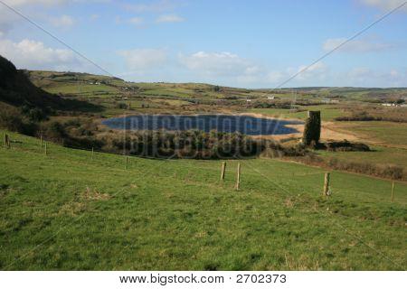 Rural Irish Lake