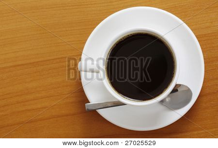 Hot coffee