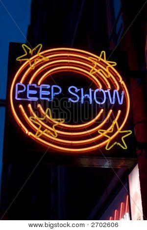 Peepshow sinal