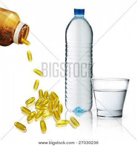 Vitamins and water