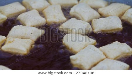 Deep-fried dough sticks