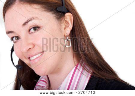 Customer Service Woman