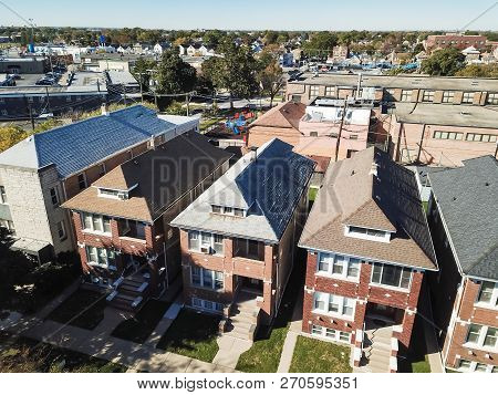 Top View Chicago Classic Townhomes