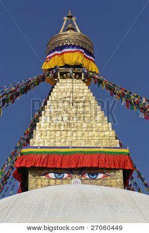 bodhnath stupa in Kathmandu, Nepal