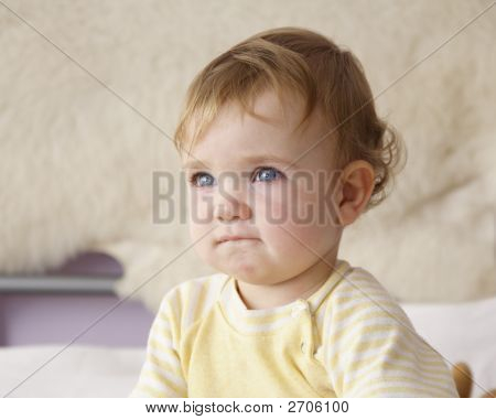 Niño perplejo