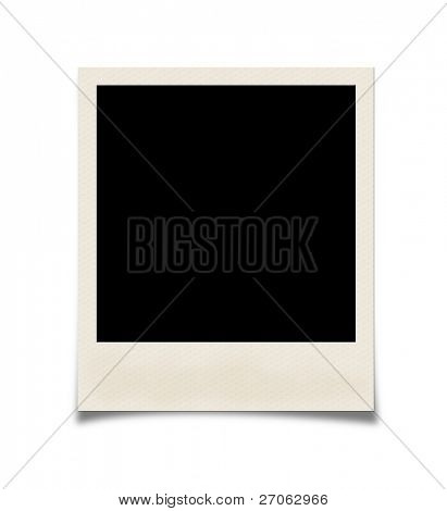 Photo isolated on white