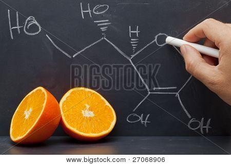 Vitamin C Structure