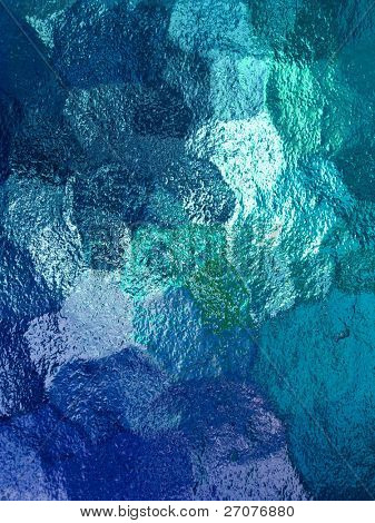 textura de vidrio