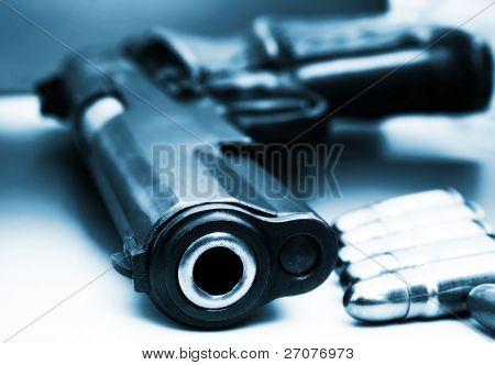 Pistola de semi Auto