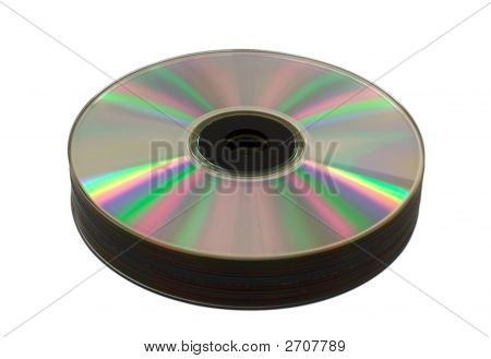 Heap Of Cd-Rom Disks