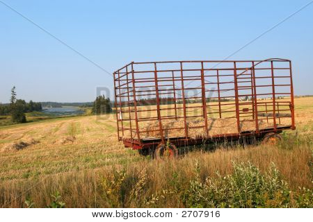 Red Haywagon