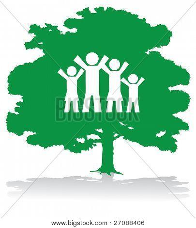 green family tree