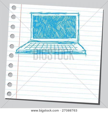 Scribble computer