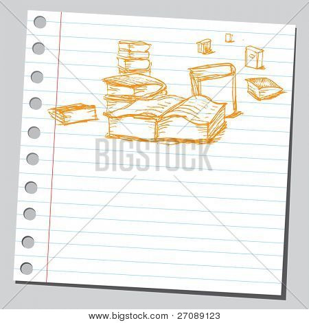 Scribble books