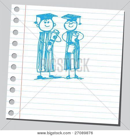 Scribble graduates