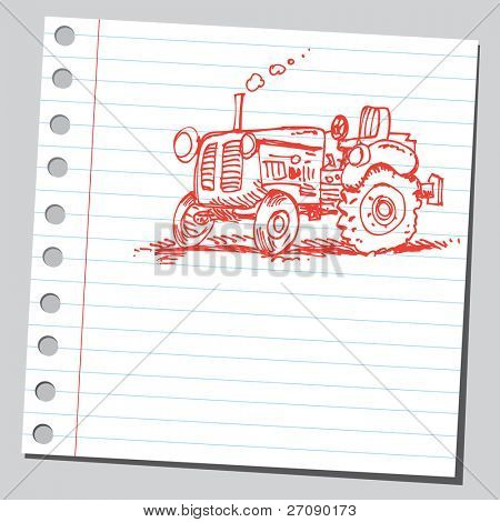 Tractor de garabato