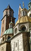 Domes At Krakow Cathedral