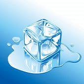 stock photo of ice-cubes  - ice cube - JPG
