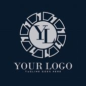 Luxury Logo Illustrations And Technology, Modern And Elegant Classic Logo Designs For The Business I poster
