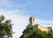 picture of apennines  - San Marino Castle - JPG