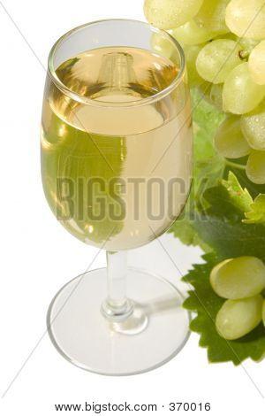 White Wine & Grapes