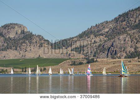 Sailing, Osoyoos Lake BC