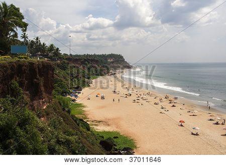 Varkala Beach Kerala India