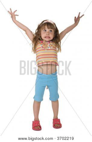 Flabbergasted Little Girl