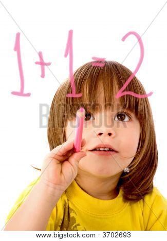 Boy Doing Maths