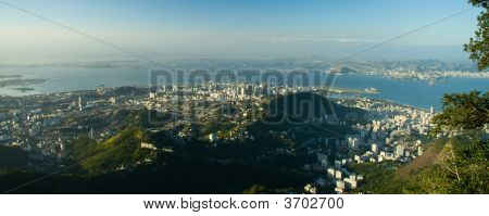 Downtown Rio And The Rio-NiteróI Bridge