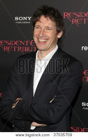 LOS ANGELES - SEP 12:  Paul W.S. Anderson arrives at the
