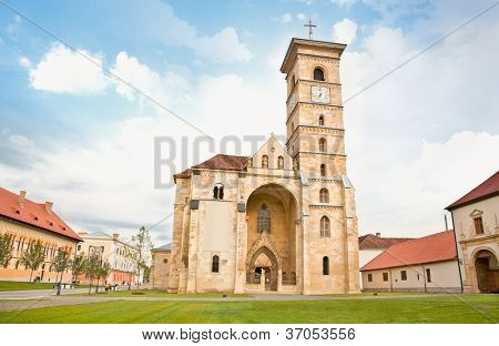 Roman Catholic cathedral in Alba Iulia, Transylvania, Romania