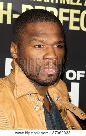 LOS ANGELES - SEP 17:  50 Cent, Curtis James Jackson arrives at the