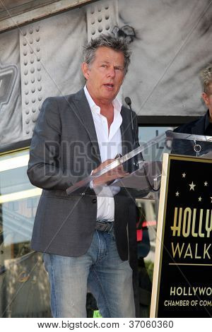 LOS ANGELES - SEP 17:  David Foster at the Hollywood Walk of Fame Star Ceremony for Rascal Flatts at Hollywood Boulevard on September 17, 2012 in Los Angeles, CA