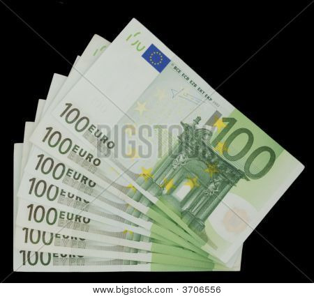 100 Euro Bills - Money