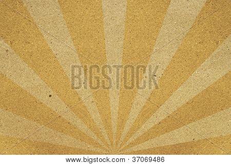 colorful sunbeams grunge background. A vintage poster.