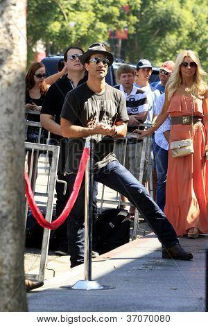 LOS ANGELES - SEP 17: Johnathon Schaech at a ceremony where the band Rascal Flatts receive a star on the Hollywood Walk of Fame on September 17, 2012 in Los Angeles, California