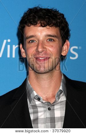 LOS ANGELES - SEP 15:  Michael Urie arrives at the CBS 2012 Fall Premiere Party at Greystone Manor on September 15, 2012 in Los Angeles, CA
