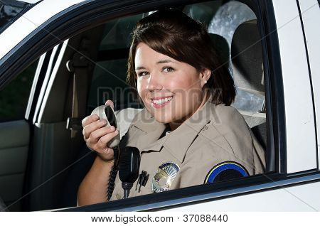 Friendly officer