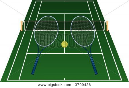 A Game Of Tennis.Eps