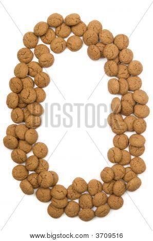 Ginger Nut Alphabet O